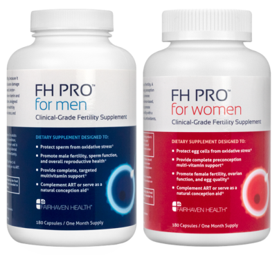 Premium Fertility Supplements for Men and Women